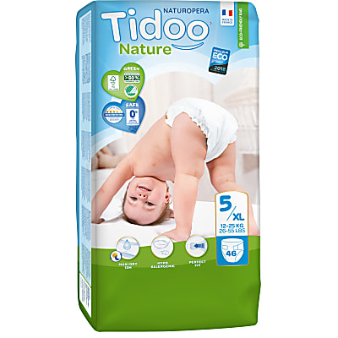 Tidoo Nature - Windeln (vorher Tag und Nacht) - Junior (12-25kg)