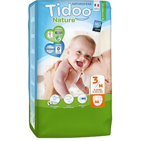 Tidoo - Windeln Tag & Nacht - Midi (4-9kg)