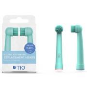 Tio 100% pflanzenbasierte Ersatzköpfe für Oral-B Zahnbürsten Coral & Pink