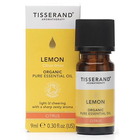 Tisserand Zitrone Bio ätherisches Öl 9ml