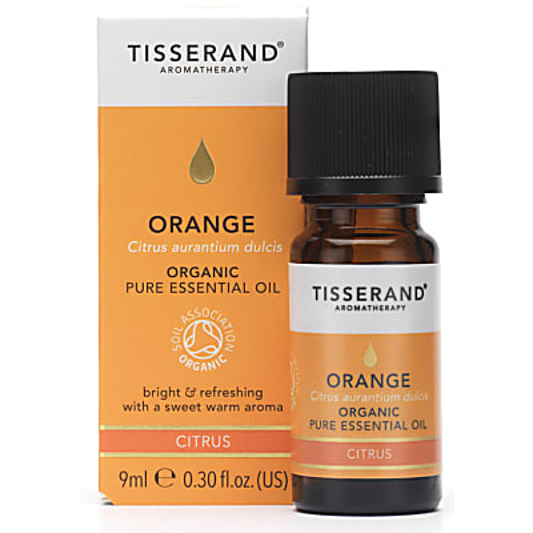 Tisserand Orange Bio ätherisches Öl 9ml