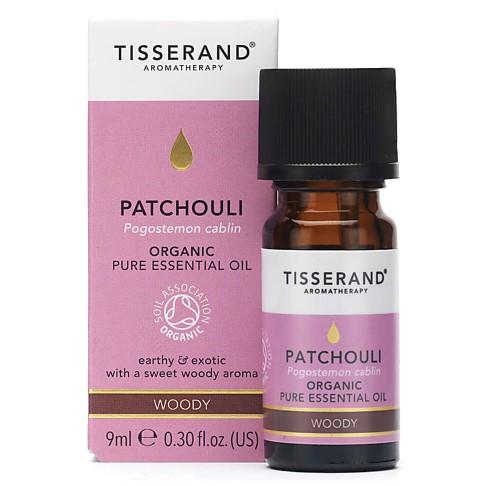 Tisserand Patchouli Bio ätherisches Öl 9ml