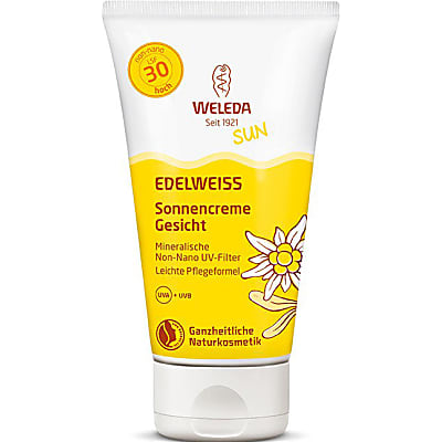 Weleda Edelweiss Sonnencreme Gesicht LSF30