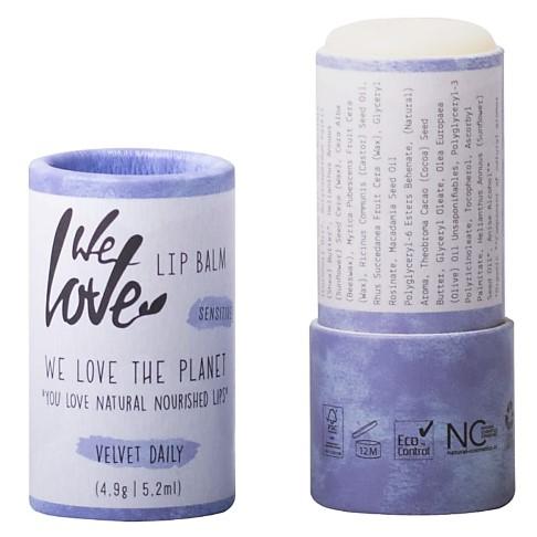 We Love The Planet Lipbalm Velvet Daily - Lippenbalsam in plastikfreier Verpackung