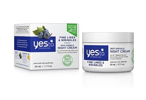 Yes To Blueberries Deep Wrinkle Night Cream
