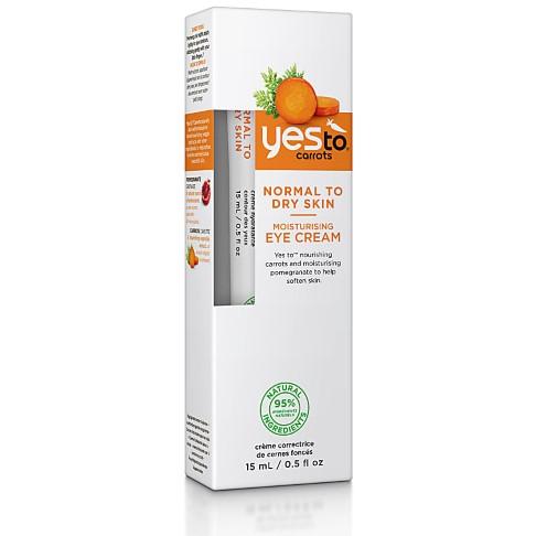 Yes To Carrots Moisturising Eye Cream - Augencreme