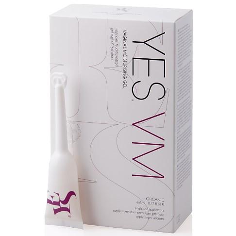 Yes VM Natural Vaginal Moisturiser - Natürliches Vaginales Feuchtigkeitsgel 6x5ml