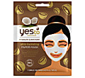 Yes to Coconuts Ultra Hydrating Paper Mask - Feuchtigkeitsspendende Maske