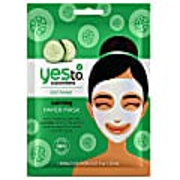 Yes to Cucumbers Calming Paper Mask - Beruhigende Gesichtsmaske