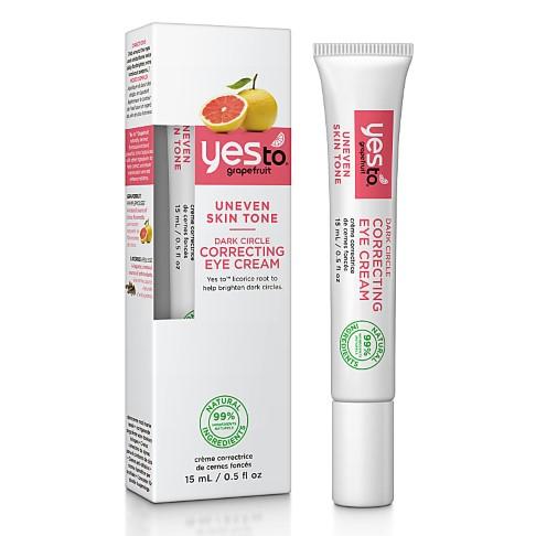 Yes to Grapefruit Dark Circle Correcting Eye Cream - Augencreme
