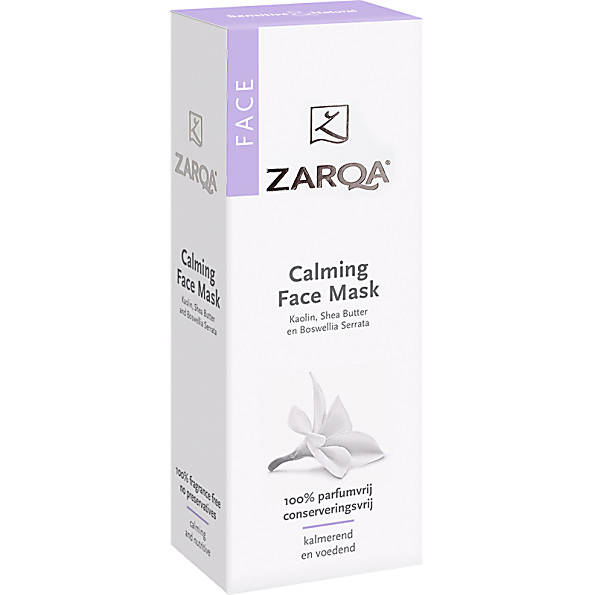 Zarqa Sensitive Calming Face Mask Beruhigende Gesichtsmaske