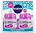 Ecozone Forever Flush Toilet Block 2000 Indigo Twin Pack