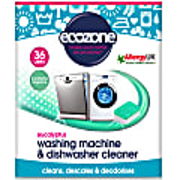 Ecozone Eucalyptus Waschmaschinen- & Spülmaschinen-Reiniger (36 Tabs)