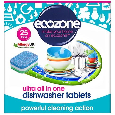 Ecozone ultra all in one Spülmaschinentabs - 25 Tabs